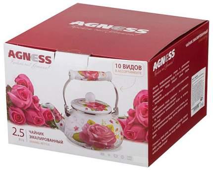 Чайник для плиты Agness 934-342 2.5 л