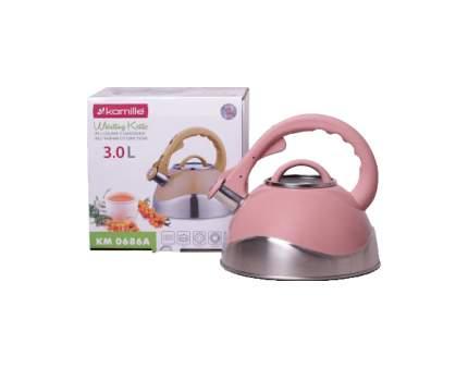 Чайник для плиты Kamille 0686A 3 л