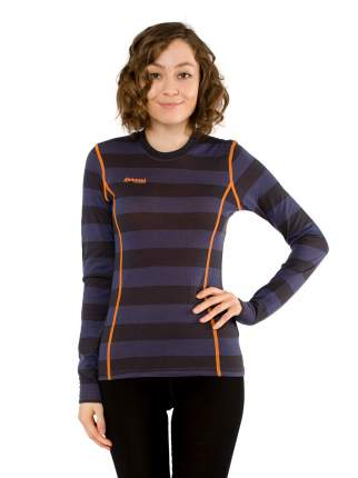 Лонгслив Bergans Akeleie Lady Shirt 2019 женский темно-синий/оранжевый, M