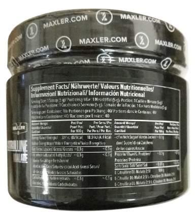L-цитруллин Maxler USA L-Citrulline Malate без вкуса 200 г