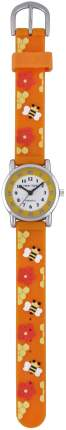 Детские наручные часы Тик-Так Н101-2 оранжевые пчелы