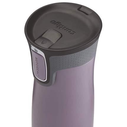 Термокружка Contigo West Loop Dark Plum фиолетовый, 0.47 л