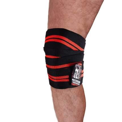 Бинты для фиксации коленей RWR-305 красный