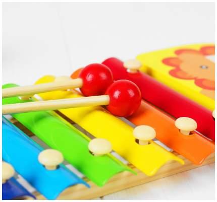 """Музыкальная игрушка """"Металлофон. Лев"""", 8 тонов Sima-Land"""