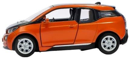 Машина металлическая BMW i3, масштаб 1:36, открываются двери, инерция Kinsmart