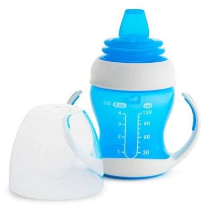 Обучающий поильник-чашка с ручками Munchkin 120мл., цв. голубой 4м+