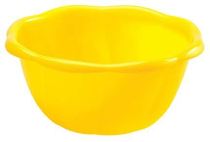 Миска Бытпласт 4312534 Желтый, голубой