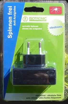 Устройство ультразвуковое против пауков ISOTRONIC Spider Repeller 66971, до 30м2, 220В