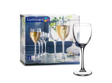 Набор фужеров Luminarc signature для красного вина 6шт