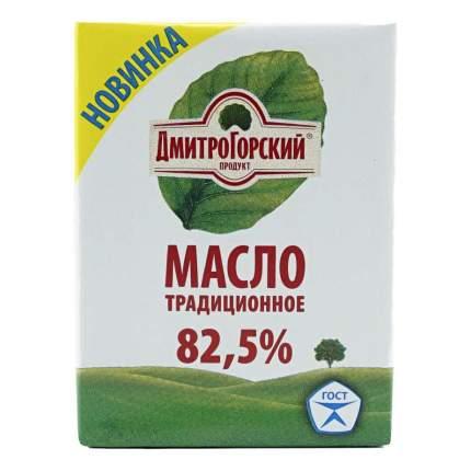 Сливочное масло Дмитрогорский продукт Традиционное 82,5% 180 г