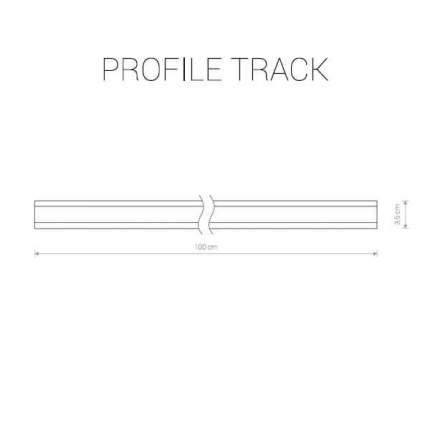 Шинопровод однофазный Nowodvorski Profile 9450