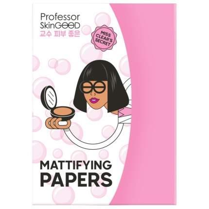 Матирующие салфетки Professor SkinGOOD Mattifying Papers 50 шт