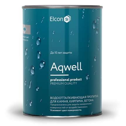 Водоотталкивающая пропитка с эффектом мокрого камня Elcon Aqwell 0,9 л