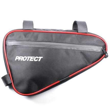 Велосумка под раму 31х20х5см PROTECT - Черная (555-532)