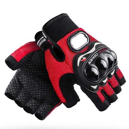 Летние мотоперчатки, красные, L, BroBobber BR-GLV1-01-L