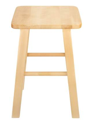 Табурет KETT-UP LOFT  HOME деревянный, сиденье квадратное, лак