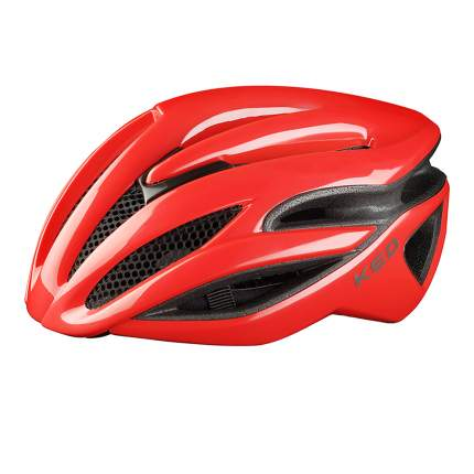 Велосипедный шлем KED Rayzon, fiery red, L