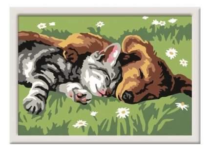 Раскрашивание по номерам «сладкий сон» размер картинки – 8,5*12 см