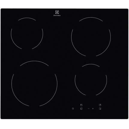 Встраиваемая варочная панель электрическая Electrolux CME6420KA Black