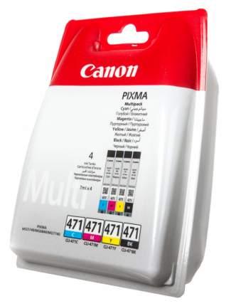 Картридж для струйного принтера Canon CLI-471 Multipack (C/M/Y/BK)