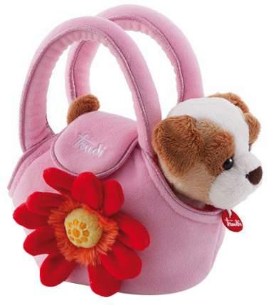 Мягкая игрушка Trudi Щенок в сумочке, 15 см