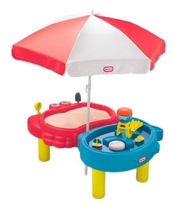 Песочница-стол с зонтом Little Tikes 401l