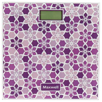 Весы напольные Maxwell MW-2673 VT Фиолетовый