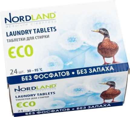 Таблетки для стирки Nordland eco 24 штуки