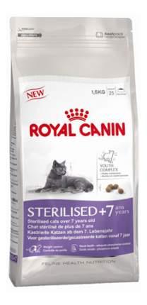 Сухой корм для кошек ROYAL CANIN Regular Sterilised 7+, для пожилых стерилизованных, 1,5кг
