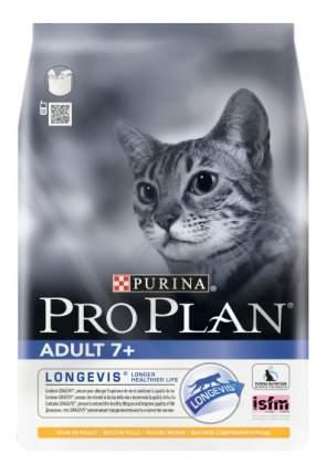 Сухой корм для кошек PRO PLAN Adult 7+, для пожилых, курица, 0,4кг