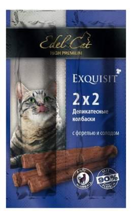 Лакомство для кошек Edel Cat Колбаски-мини Форель & Солод, 8г