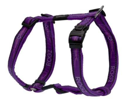 Шлейка для собак Rogz Fancy Dress L-20мм (Фиолетовый SJ03BJ)