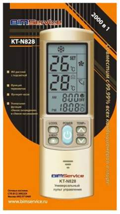 Пульт ДУ для кондиционера BIMservice КТ-N828