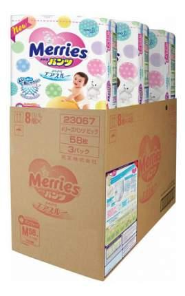 Подгузники-трусики Merries M (6-10 кг), 174 шт.