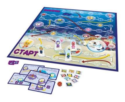 Семейная настольная игра Zvezda Пингвиненок Пороро Подводное приключение