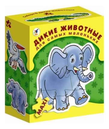 Семейная настольная игра Дрофа Дикие животные 1085