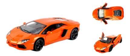 Коллекционная модель RASTAR 1:18 Lamborghini Aventador LP700 оранжевая