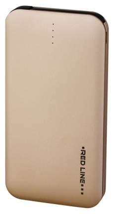 Внешний аккумулятор RED LINE B8000 Metal 8000 мА/ч Gold