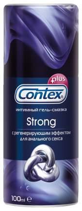Интимная гель-смазка Contex Plus Strong с регенерирующим эффектом 100мл
