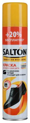 Краска для обуви Salton для гладкой кожи черная