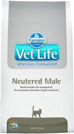 Сухой корм для котов Farmina Vet Life Neutered Male, для кастрированных, курица, 0,4кг