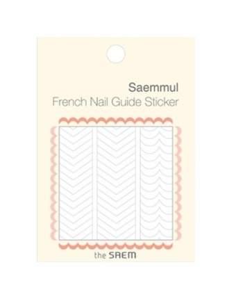 Наклейки для ногтей the SAEM French Nail Guide Sticker 02 Love