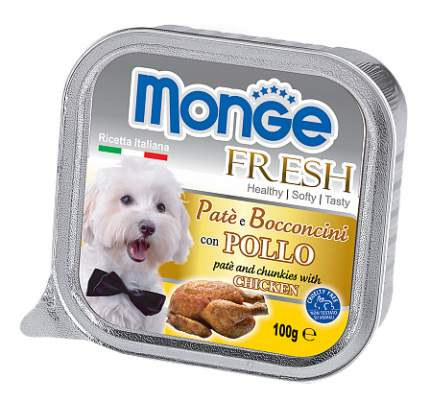 Корм для собак Monge, курица, породы среднего размера 100г