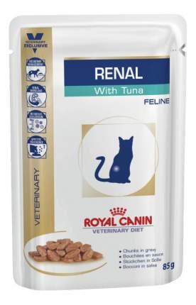 Влажный корм для кошек ROYAL CANIN Vet Diet Renal, рыба, 85г