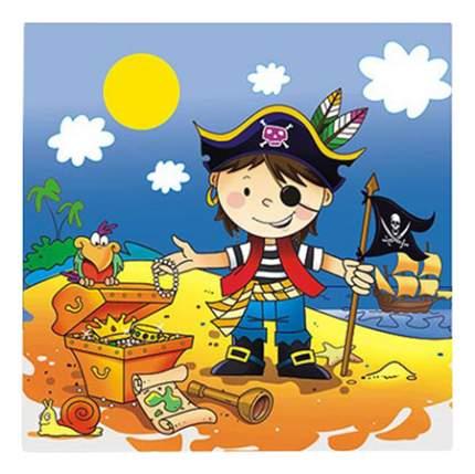 Набор салфеток Веселая затея 1502-1284 Маленький пират 33 см, 12 штук