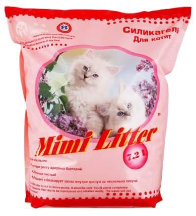 Наполнитель Mimi Litter силикагелевый 7.2 л без запаха