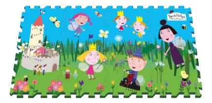 Мягкий коврик-пазл Ben & Holly Маленькое королевство Бена и Холли