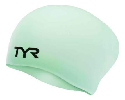 Шапочка для плавания TYR Long Hair Wrinkle-Free Silicone Cap 332 mint
