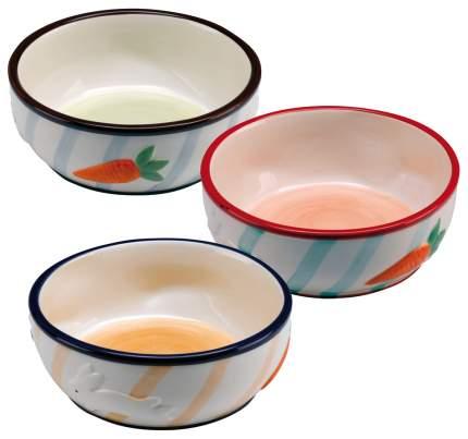 Одинарная миска для грызунов Ferplast, керамика, разноцветный, 0.36 л