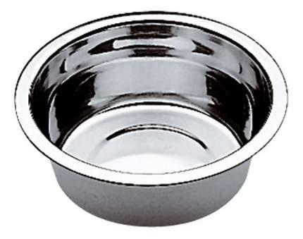 Одинарная миска для кошек и собак Ferplast, сталь, серебристый, 0.25 л